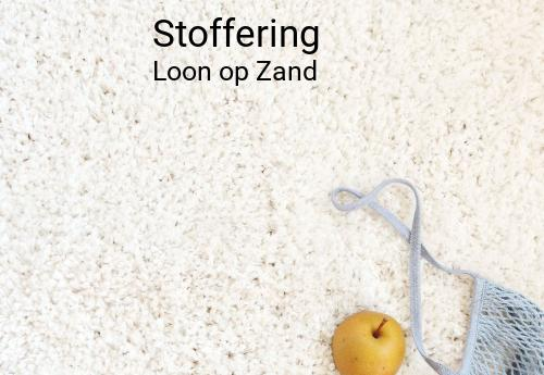 Stoffering in Loon op Zand