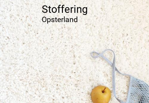 Stoffering in Opsterland