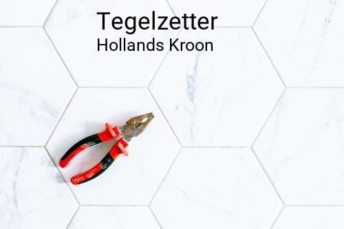 Tegelzetter in Hollands Kroon
