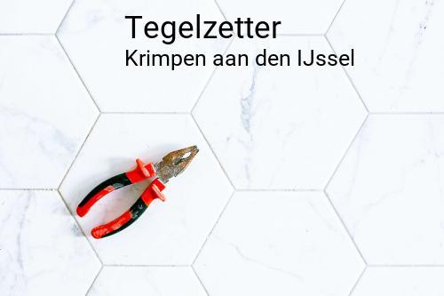 Tegelzetter in Krimpen aan den IJssel