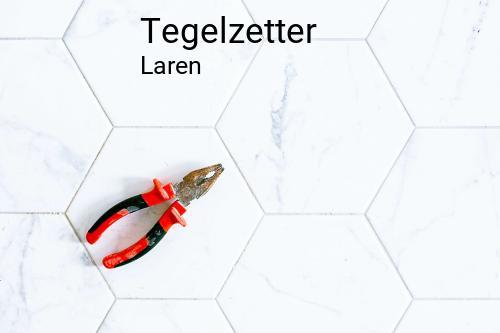 Tegelzetter in Laren