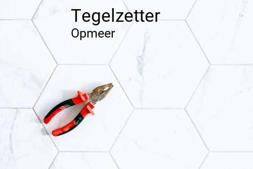 Tegelzetter in Opmeer