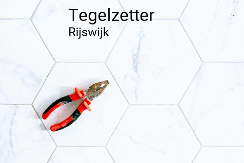 Tegelzetter in Rijswijk