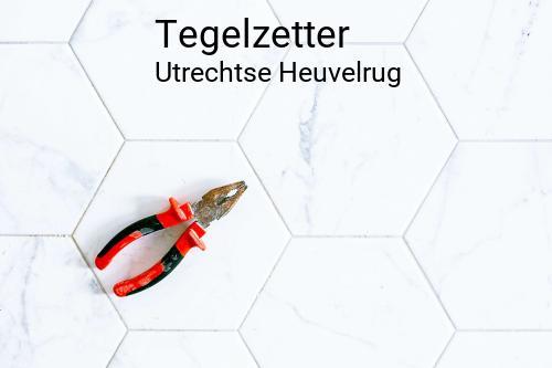 Tegelzetter in Utrechtse Heuvelrug