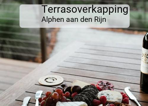 Foto van Terrasoverkapping in Alphen aan den Rijn