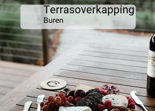 Terrasoverkapping in Buren
