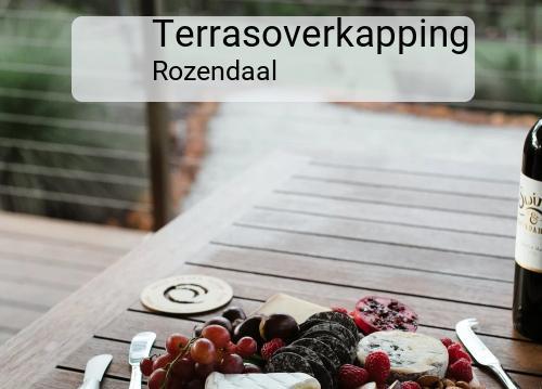 Terrasoverkapping in Rozendaal