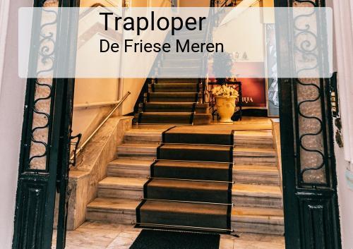 Traploper in De Friese Meren