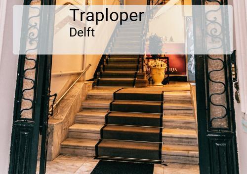 Traploper in Delft