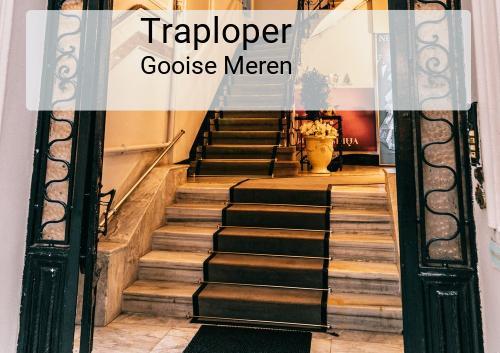 Traploper in Gooise Meren