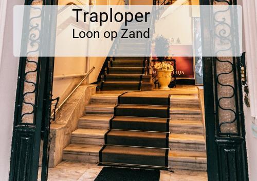 Traploper in Loon op Zand