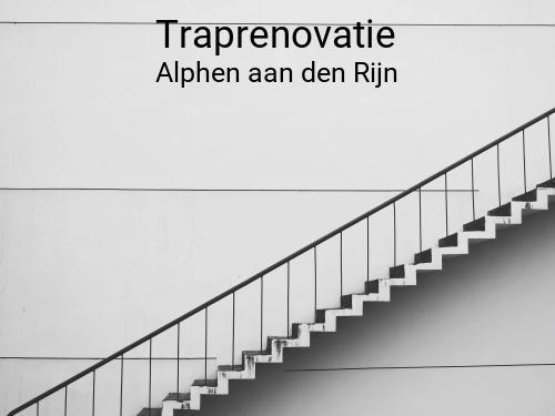 Traprenovatie in Alphen aan den Rijn