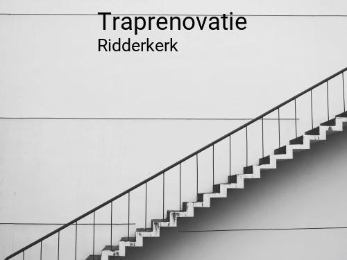 Traprenovatie in Ridderkerk