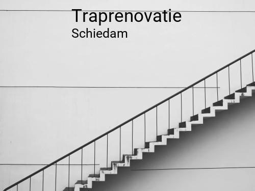 Traprenovatie in Schiedam