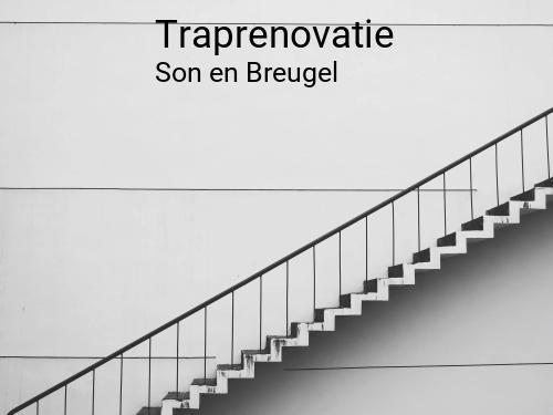 Traprenovatie in Son en Breugel