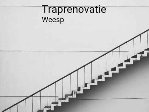 Traprenovatie in Weesp