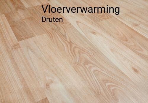 Vloerverwarming in Druten